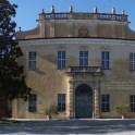 Facciata del castello di San Giorgio, vista da est.