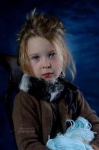 Sofia in blu