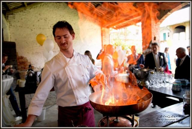 La cucina a portata di mano, nel servizio di catering #cateringnozze