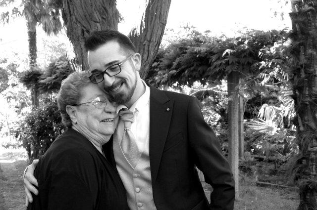 Cara nonna... non ti faremo aspettare #testimonianze #famiglia #fotografodimatrimoni