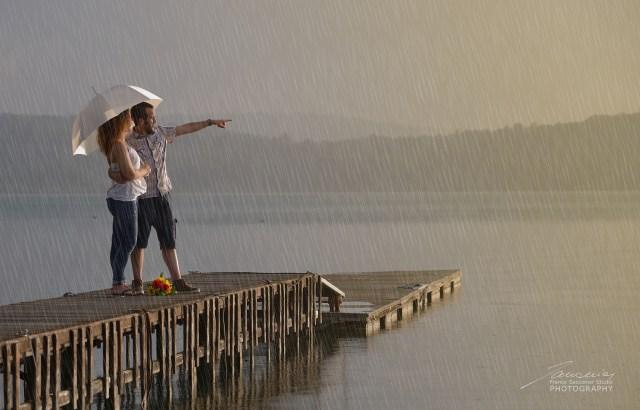 Lago di Viverone #viverone #lagodiviverone #temporale