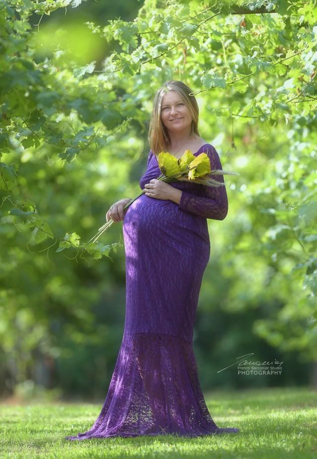 Servizio fotografico di gravidanza all'aria aperta #fotografogravidanza
