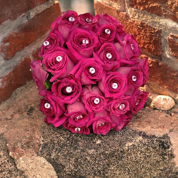 Il bouquet monocromatico. La sposa non ha avuto dubbi!