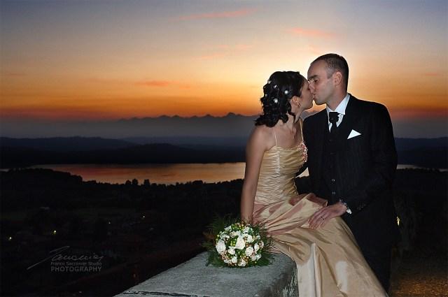 Fotografo Matrimoni. Al Castello di Roppolo (Bi) Punto panoramico sul lago di Viverone. #lagodiviverone