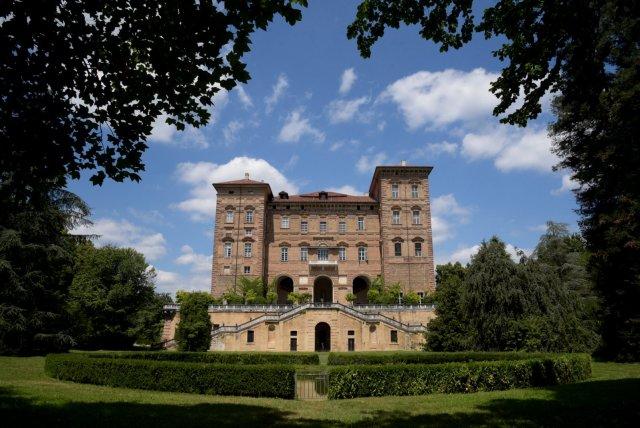 Castello di agliè dal giardino. #castelloducale
