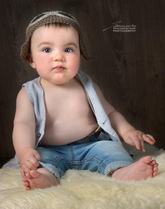 Nove mesi, un periodo meraviglioso per le fotografie dei bimbi, che sono spontanei e spensierati. #fotografobimbi #bookperbambini