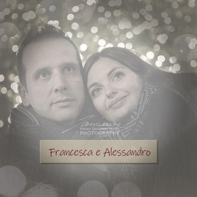 Questa è la copertina della pagina dedicata a Francesca ed Alessandro