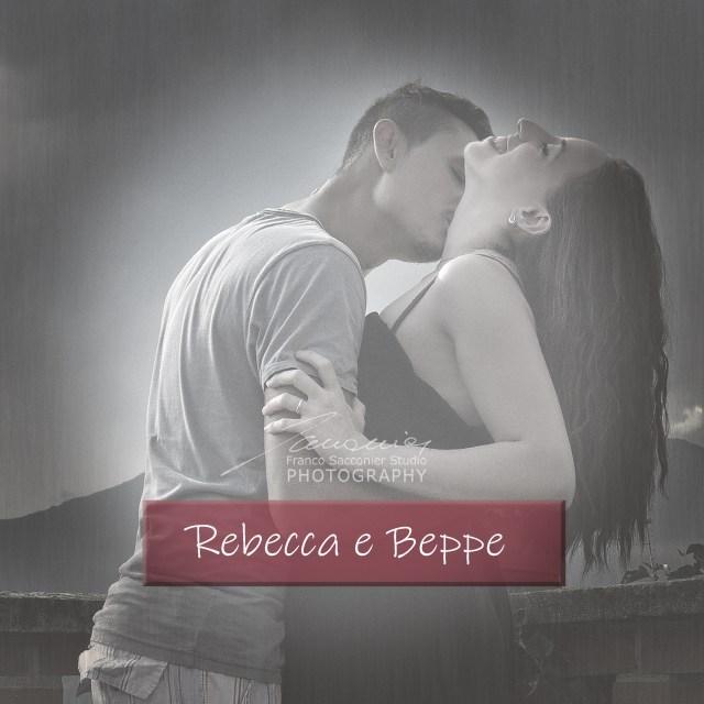 Rebecca e Beppe uno scatto dal servizio di Engagement