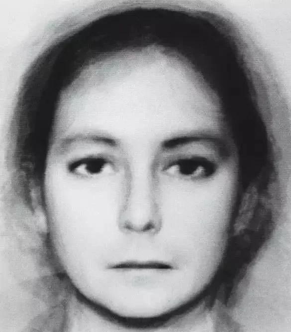 Androginia (6 + 6 Hombres Mujeres) (Nancy Burson, Estados Unidos, 1982)