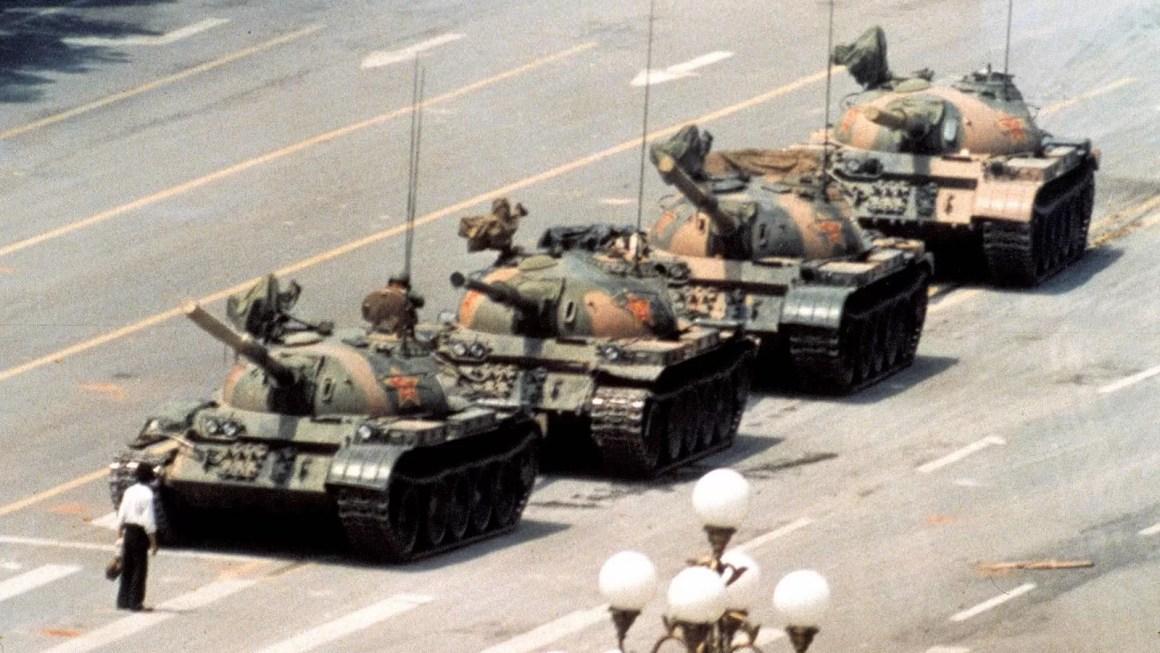 Tiananmen, República Popular China - Jeff Widener - 1989