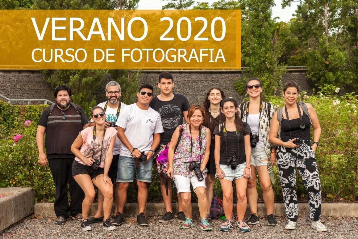 CURSO DE FOTOGRAFIA ENERO 2020