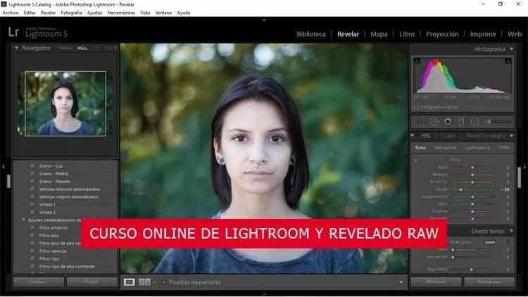 CURSO ONLINE DE LIGHTROOM Y REVELADO RAW