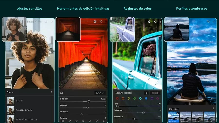 Adobe Lightroom para celulares