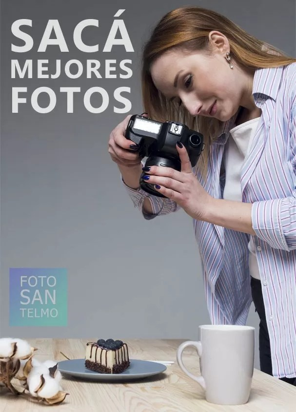 Curso incial de fotografía con cámara fotográfica digital