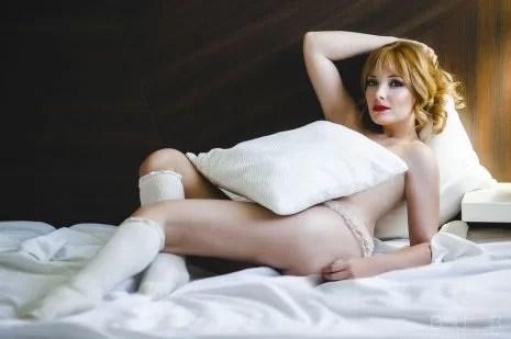book de Fotos desnuda elegante - fotógrafos boudoir