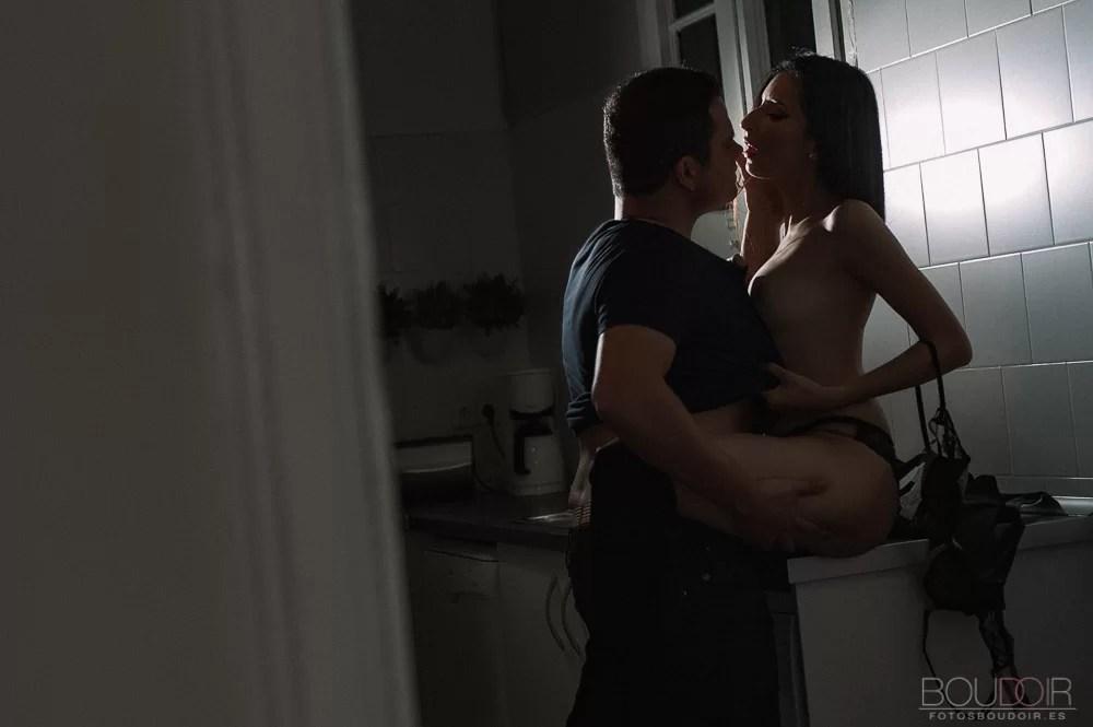Sesión fotos sexy parejas - Fotos boudoir sexy de pareja
