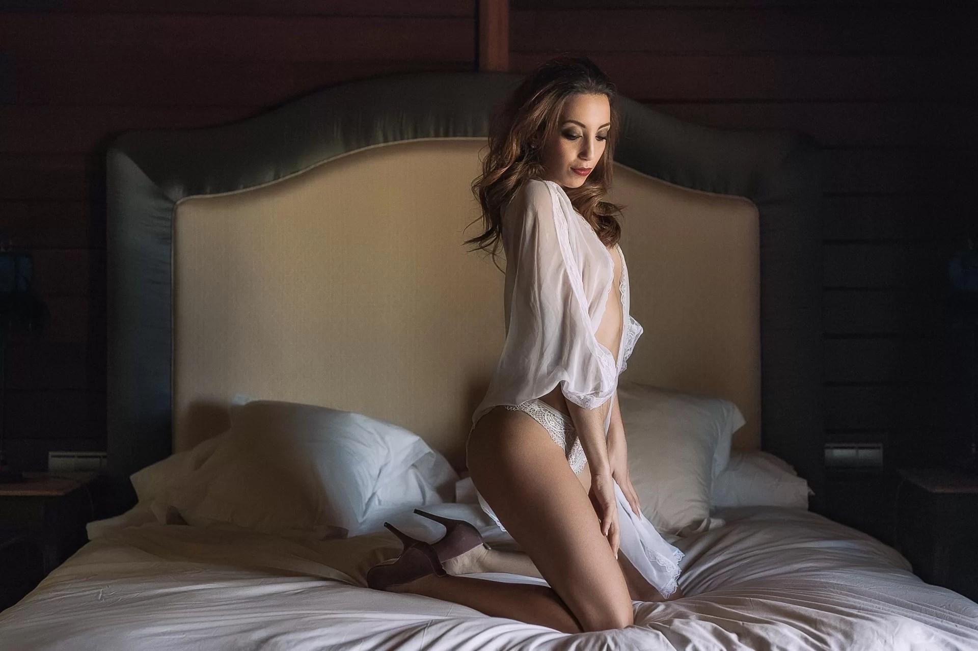 Fotografía sensual - experiencia boudoir