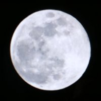 Have you seen todays super snow moon?