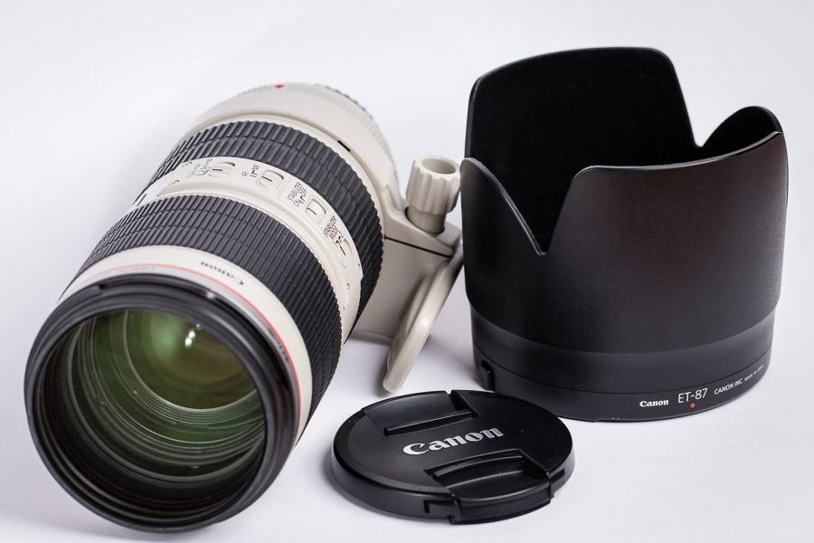 Canon-Objektive zu verkaufen