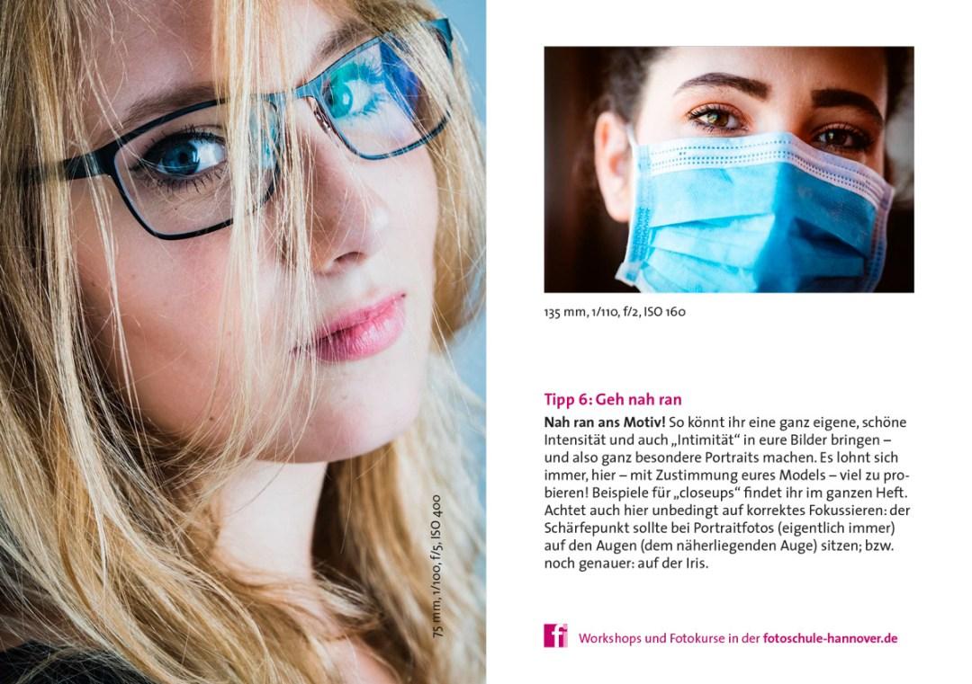 Tipps für bessere Portraitfotos