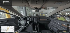 Interior de Auto Renault 2020