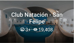 Recorrido Virtual de Club Natación San Felipe