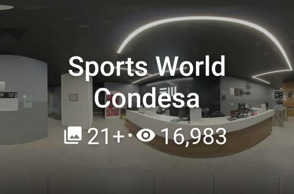 Sports World Condesa 2020 Marzo