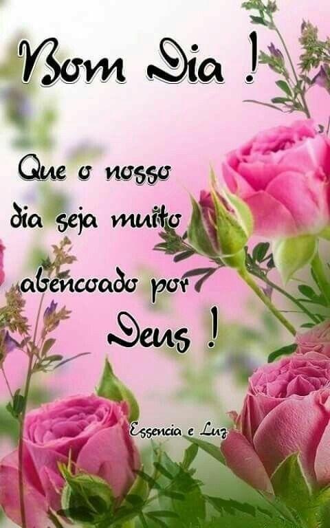 A Benção de Deus Vem sobre nós, Bom Dia .