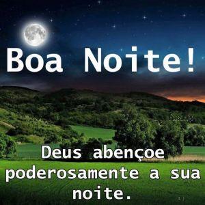 Boa noite a todos! Deus abençoe poderosamente a sua noite