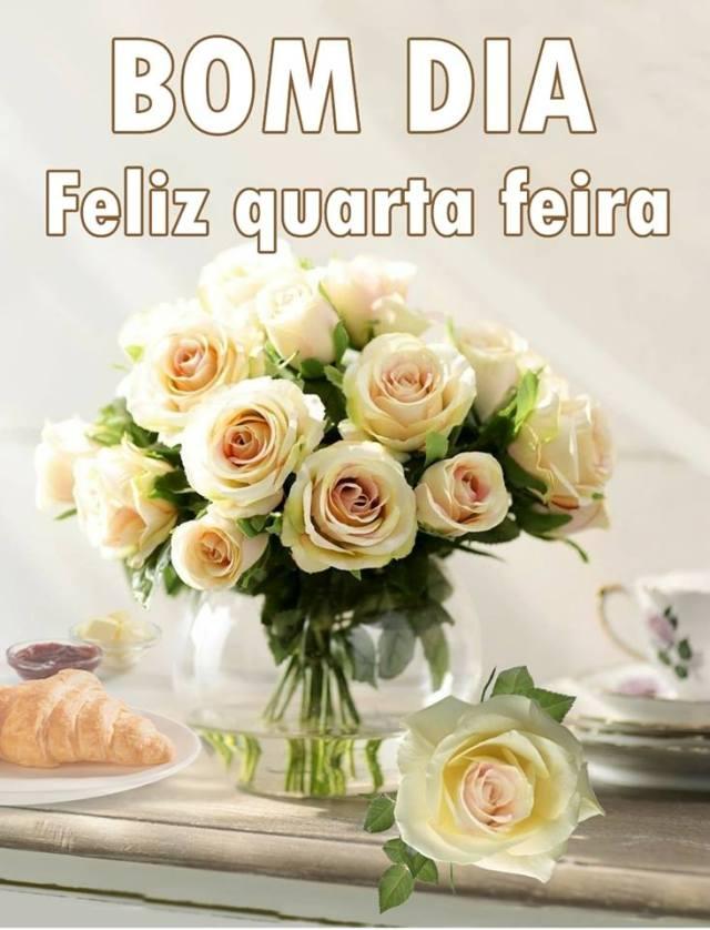 Feliz quarta feira! Dia de flores.