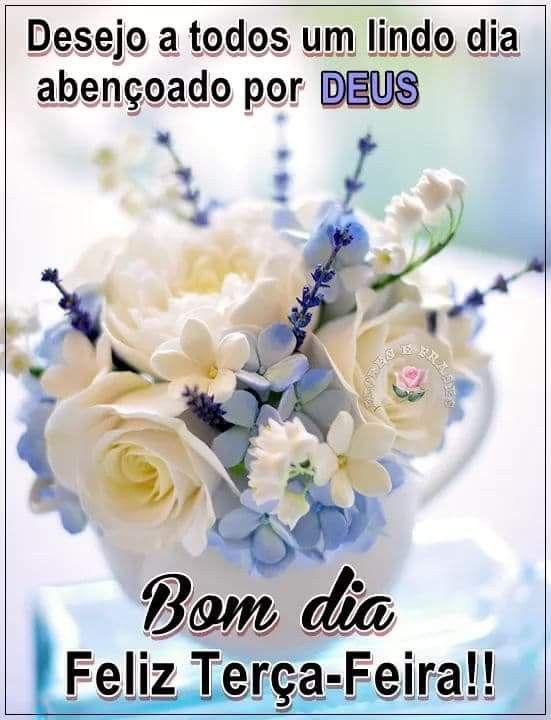 Bom dia e feliz terça abençoado por Deus
