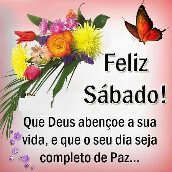 Bom dia feliz sábado abençoado e que seja de paz amor e saúde para todos