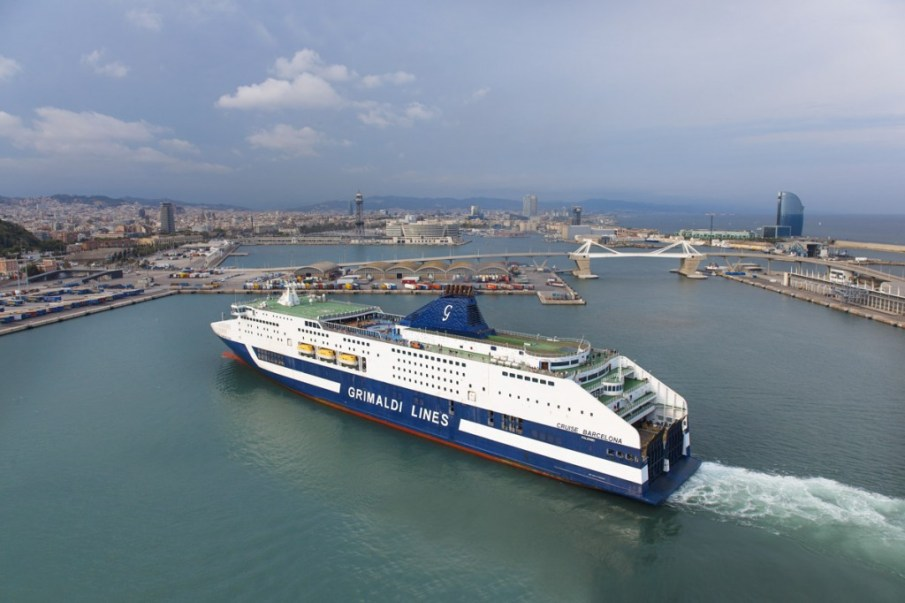 Cruises terminal. Port of Barcelona. Barcelona. Spain