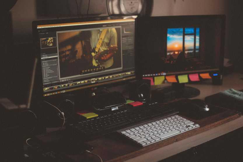 Foto S - kalibrovanie monitorov