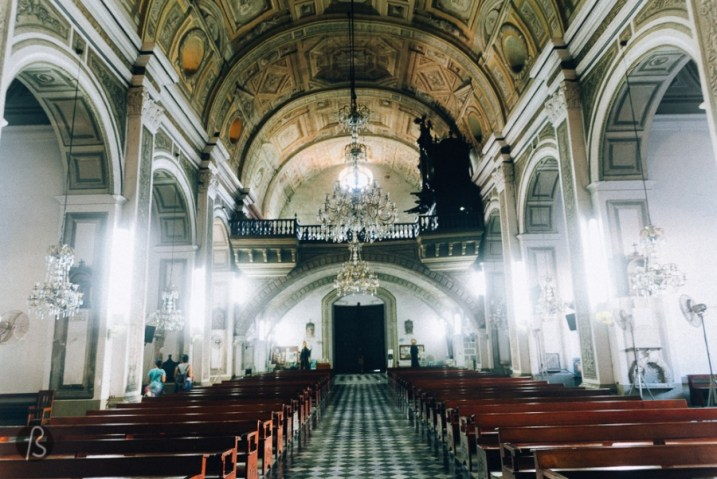 The San Agustin Church