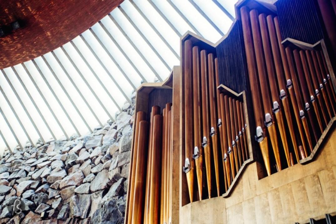 Church in the Rock Helsinki Temppeliaukio Organ 01