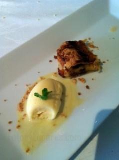 Crujiente de manzana Restaurante Murri