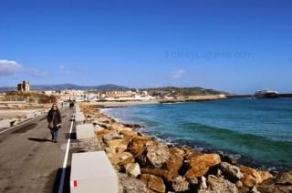 TARIFA, camino a la isla de las Palomas