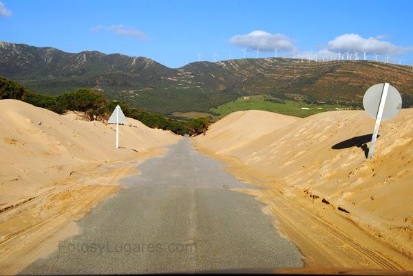 Carretera de Duna dePunta Paloma