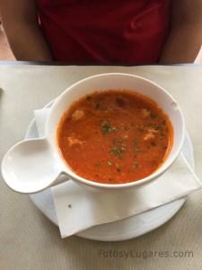 Sopa de la brasserie belga