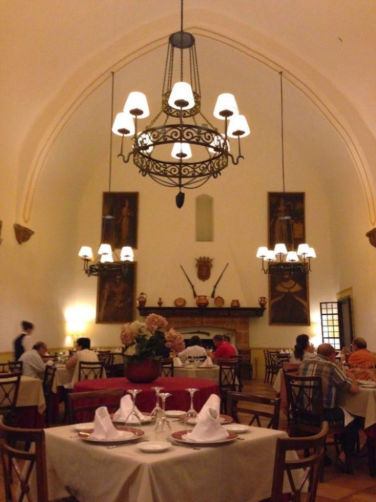 Restaurante del Hotel del Monasterio de Piedra