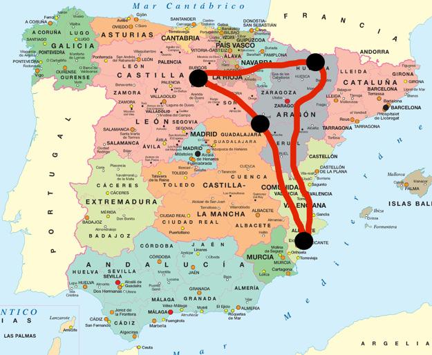Ruta 11 días por el norte de España