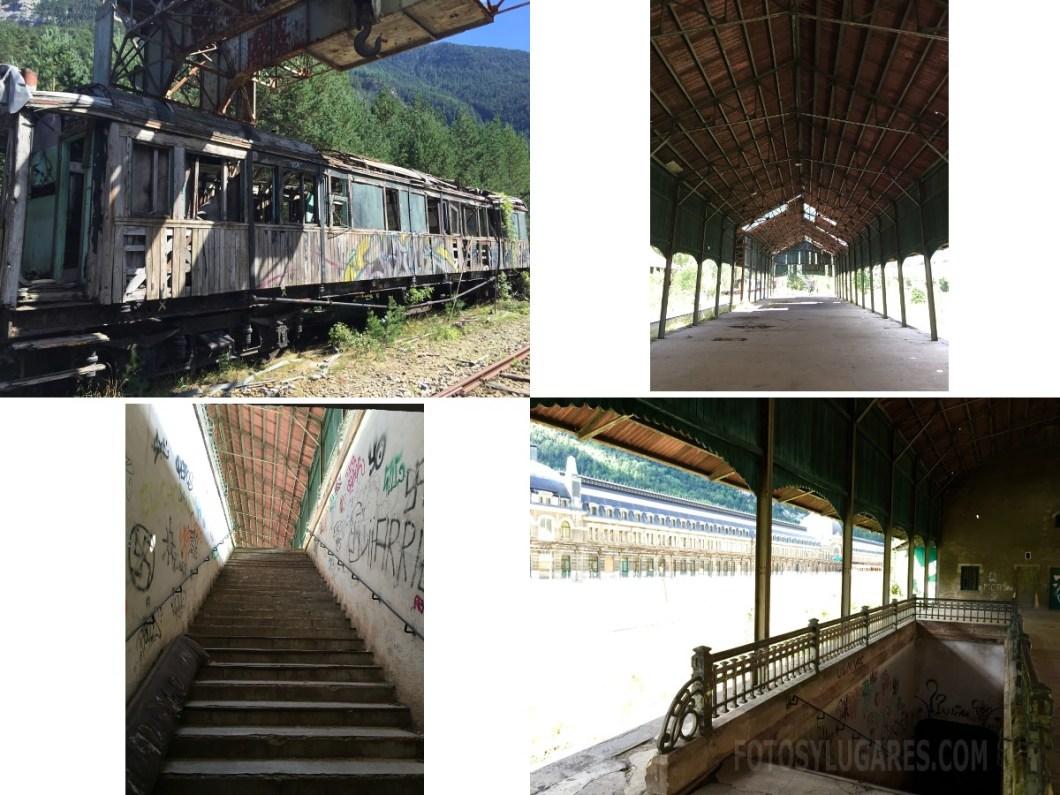 Estación de Canfranc abandonada 2