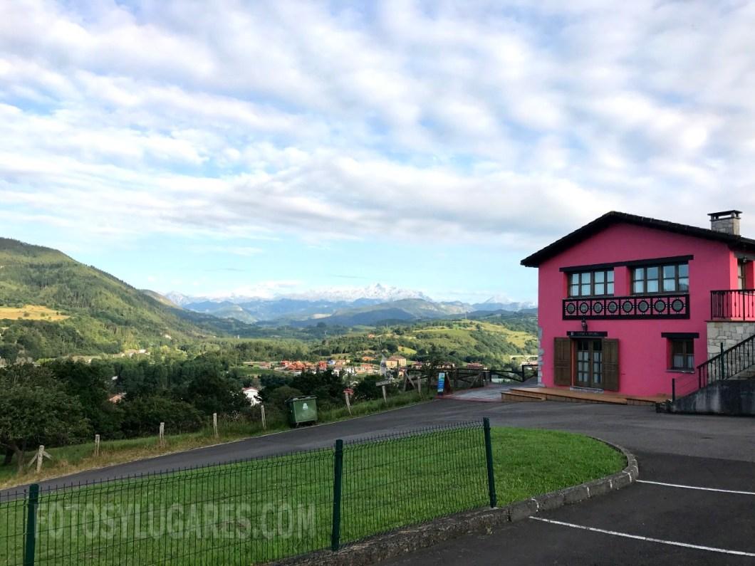 Picos de Europa desde casa rural en Arriondas