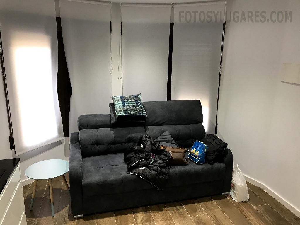 Sofá cama apartamento en Teruel