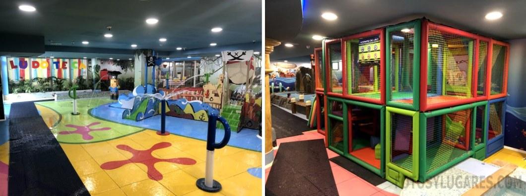 Balneario infantil en Marina d'Or