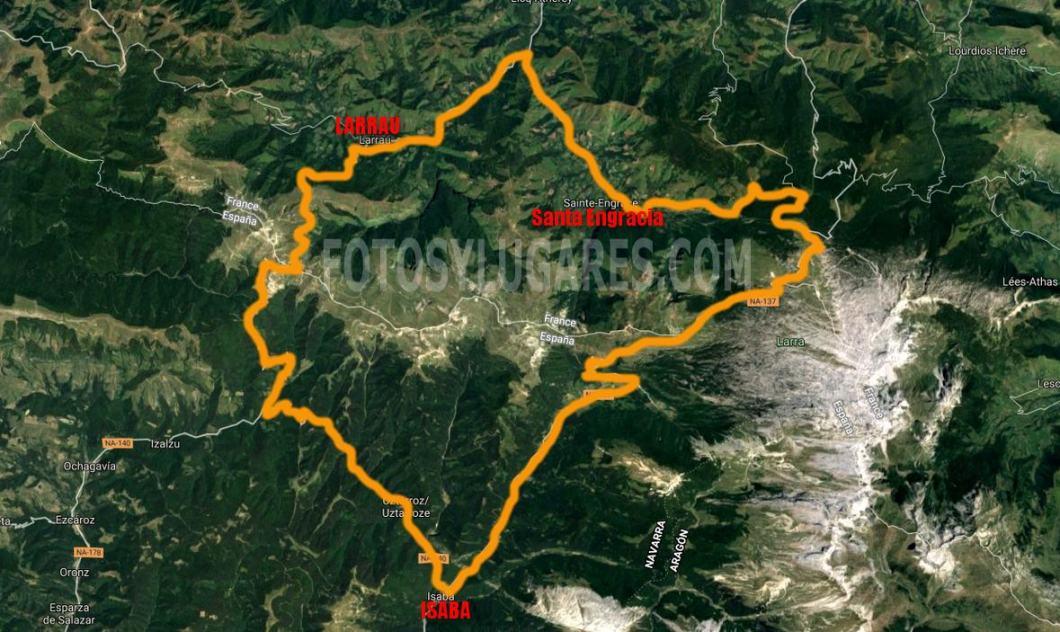 Ruta en coche por el pirineo francés
