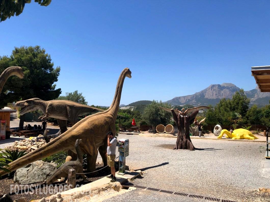 Dinosaurios en DinoPark Algar