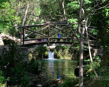 Molí l'Ombria, fantástica zona para disfrutar del río en Bañeres de Mariola