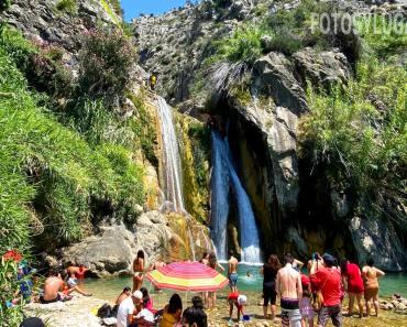 Cascada de Bolulla, precioso salto de agua en Alicante